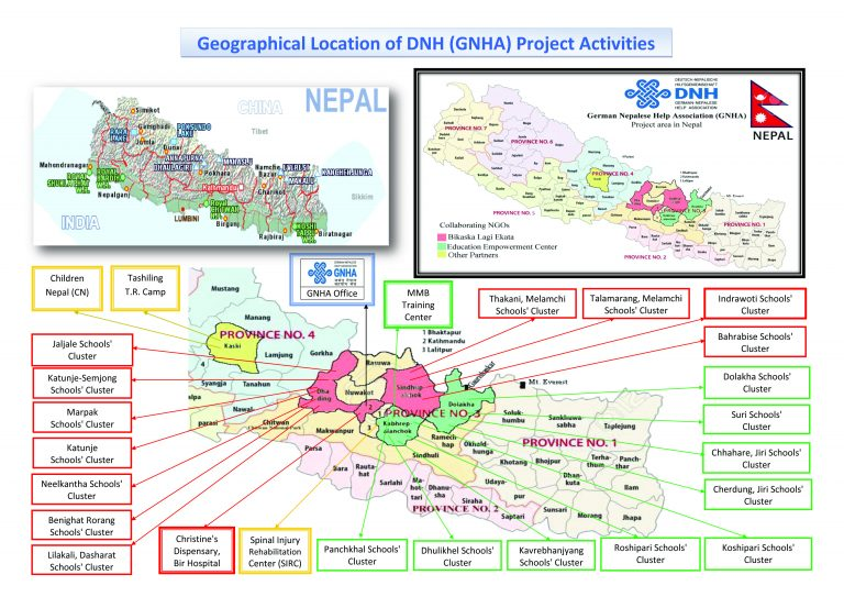1 Geographical Location of DNH (GNHA) Project Activities 25May 2020